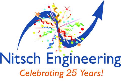 Nitsch Engineering - 25th anniversary logo